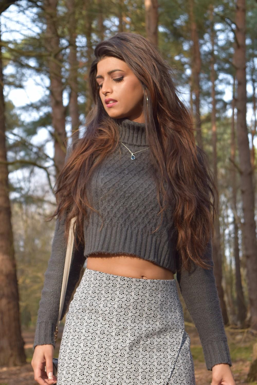 ootd, fashion blog, cropped jumper, skort