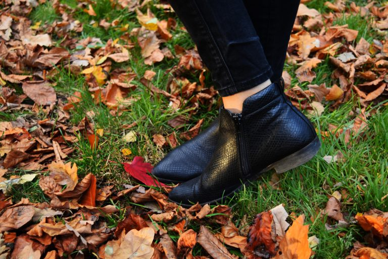 shoes-in-autumn-leaves